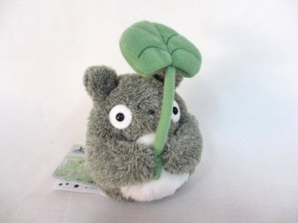 My Neighbor Totoro Grey Totoro fluffy beanbags (leaf retention)