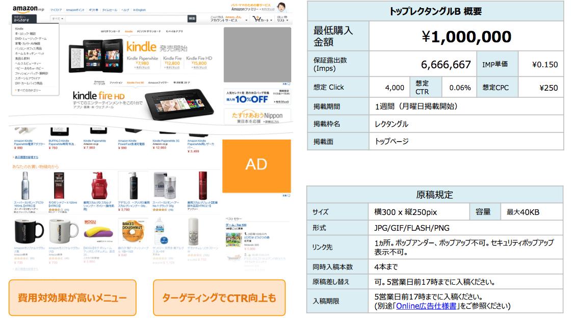 Amazon広告トップレクタンダルB