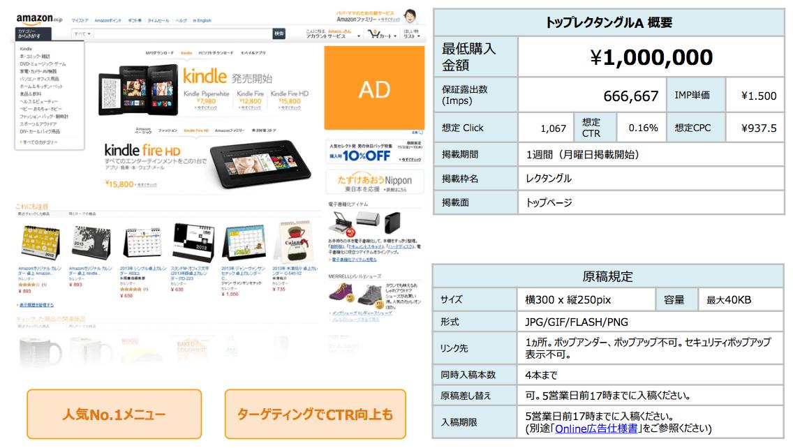 Amazon広告トップレクタンダルA